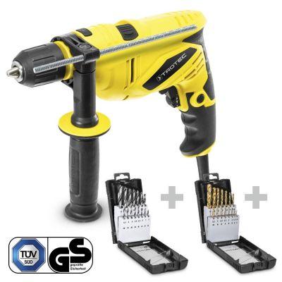 Klopboormachine PHDS 10-230V + Houtboor-set + HSS-Metaalboor-set
