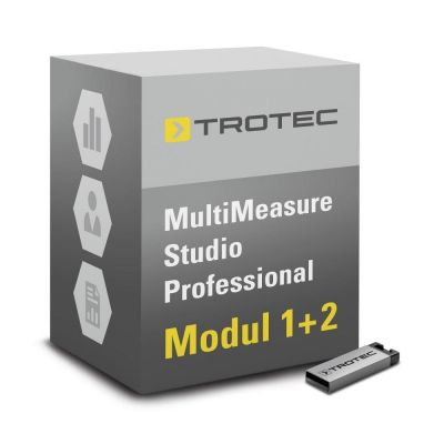 Software MultiMeasure Studio Professional Modul 1+2