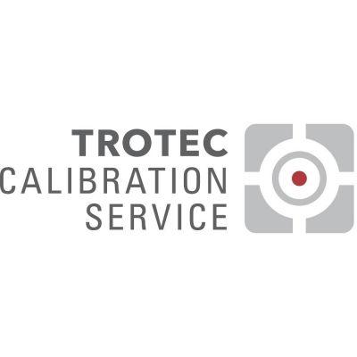 ISO calibratie I.2302 luchtvochtigheid met luchttemperatuur [%/°C ] 1 punt keuze bij -10°C tot +90°C