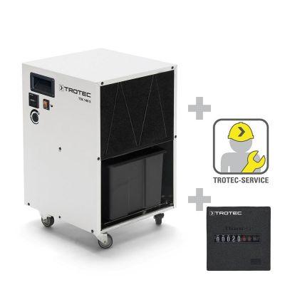 Luchtontvochtiger TTK 140 S + bedrijfsurenteller inclusief inbouwen