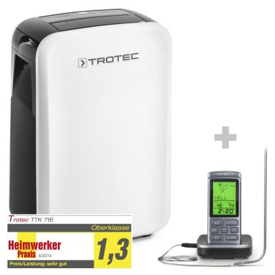Luchtontvochtiger TTK 71 E + Barbecue thermometer BT40