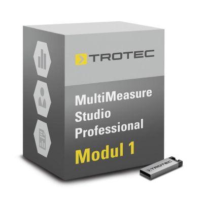 Software MultiMeasure Studio Pro-Modul 1 voor opsporen van lekken, bouwwerk-/schimmeldiagnose