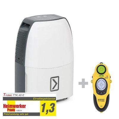 Luchtontvochtiger TTK 40 E + wallscanner BI15