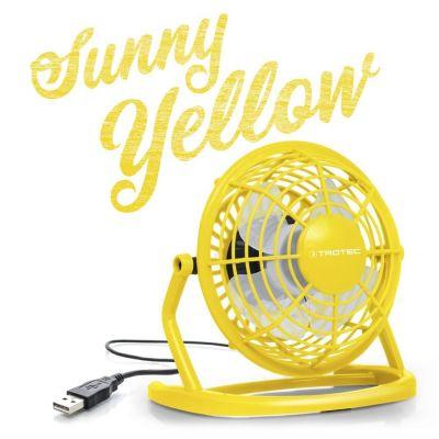 USB Ventilator geel TVE 1Y