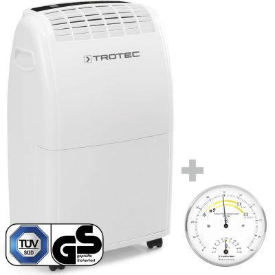 Luchtontvochtiger TTK 75 E + Thermo-hygrometer BZ15M