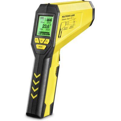 Infrarood-thermometer / Pyrometer TP10 multipunt-laser