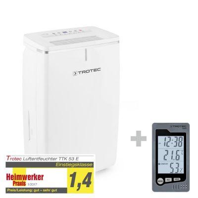 Luchtontvochtiger TTK 53 E + Ruimte-thermohygrometer BZ05
