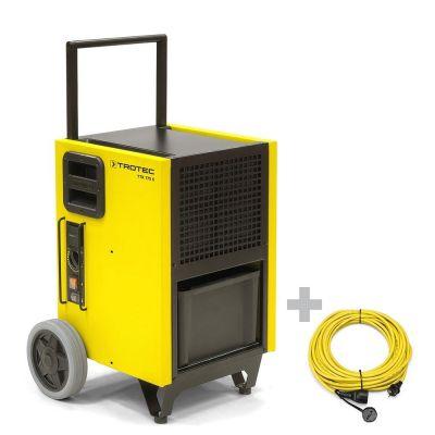 Luchtontvochtiger TTK 175 S + professionele verlengkabel 20 m / 230 V / 2,5 mm²