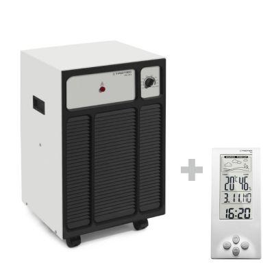 Luchtontvochtiger TTK 120 S + Thermohygrometer weerstation BZ06