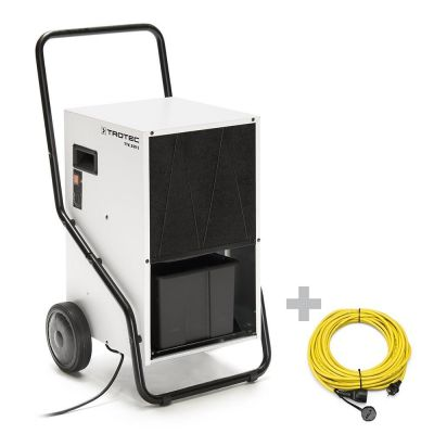 Luchtontvochtiger TTK 350 S + professionele verlengkabel 20 m / 230 V / 2,5 mm²
