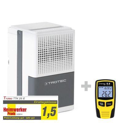 Luchtontvochtiger TTK 25 E + klimaatgegevenslogger BL30