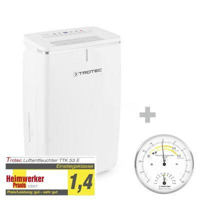 Luchtontvochtiger TTK 53 E + Thermo-hygrometer BZ15M