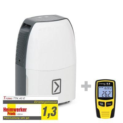 Luchtontvochtiger TTK 40 E + klimaatgegevenslogger BL30