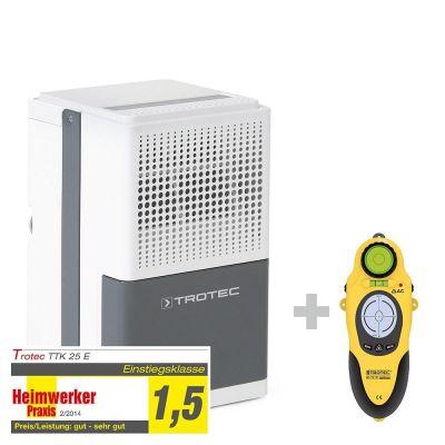 Luchtontvochtiger TTK 25 E + wallscanner BI15