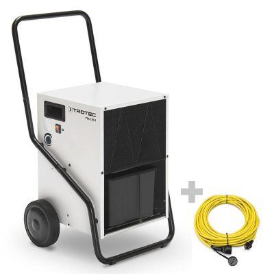 Luchtontvochtiger TTK 170 S + professionele verlengkabel 20 m / 230 V / 2,5 mm²