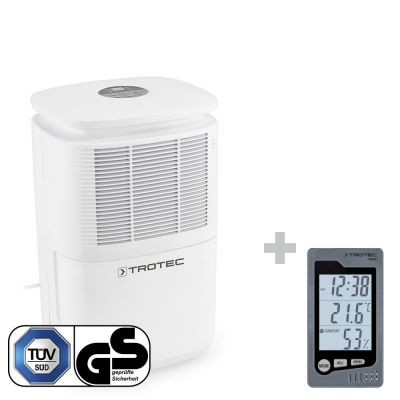 Luchtontvochtiger TTK 30 E + Ruimte-thermohygrometer BZ05