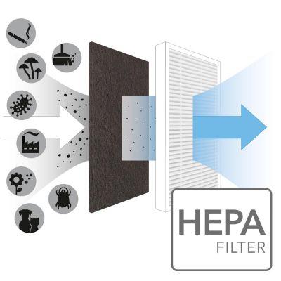 True HEPA-Filter voor AirgoClean 10 E