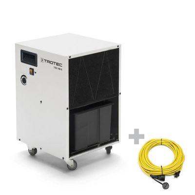 Luchtontvochtiger TTK 140 S + professionele verlengkabel 20 m / 230 V / 2,5 mm²