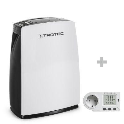 Luchtontvochtiger TTK 70 E + Energiekosten-meetapparaat BX11