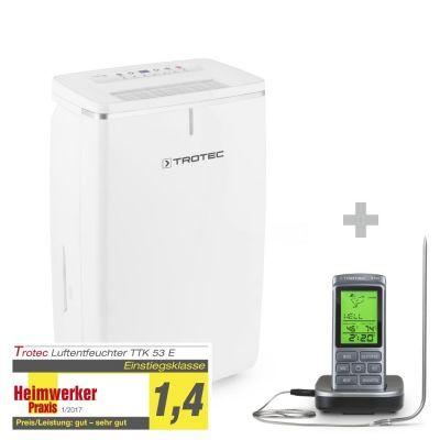 Luchtontvochtiger TTK 53 E + Barbecue Thermometer BT40
